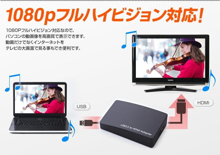1080pフルハイビジョン対応!