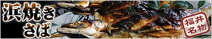 福井名物 浜焼き鯖