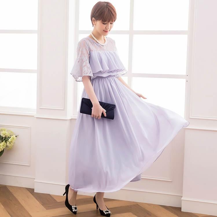 ドレス お呼ばれ 結婚式 パーティードレス