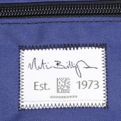 ビリンガムカメラマンバッグの織りネーム
