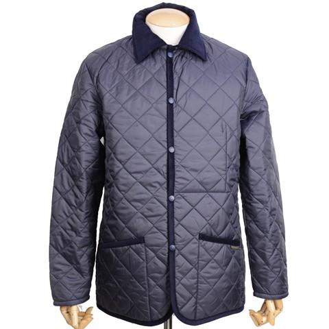 ラベンハム「デンハム」キルティングジャケットのモデル
