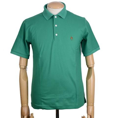 ポール・スチュアート アイコニック半袖ポロシャツのモデル