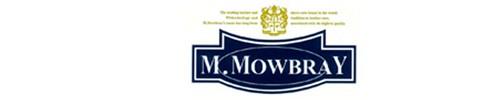 M.モゥブレィ シュークリームジャーのブランドロゴマーク