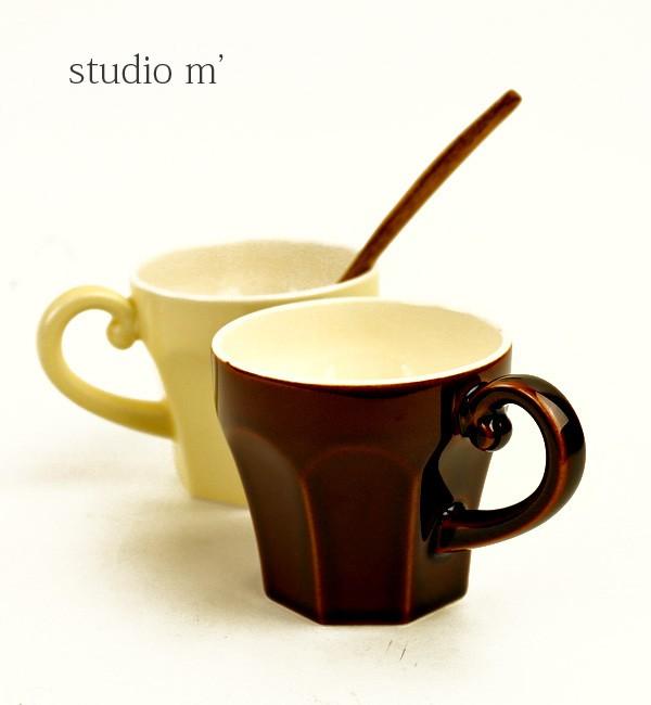 studio m'(スタジオエム) 半磁器 マグカップ エピスマグ・EPICEMUG  #studiom'
