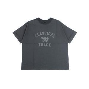 トラヴァイユマニュアル プリントTシャツ CLASSIC TRACK TRAVAIL MANUEL 2021春夏新作 レディース 国内正規品 メール便可能5 etre!par bleu comme bleu
