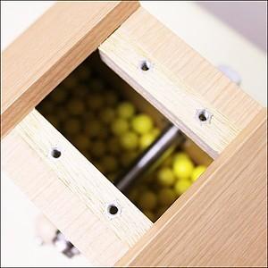 イベントグッズ/抽選用品/低価格タイプ木製ガラポン[ガラガラ]福引抽選器