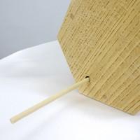 イベントグッズ/抽選用品/おみくじ筒(白木ケヤキ製)