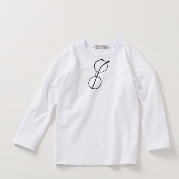 長袖tシャツ 男の子 女の子 白 黒 グレー ネイビー プリントt キッズ 100cm 110cm 120cm 130cm コットン 綿100% evercloset 17