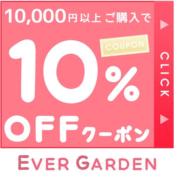 10,000円以上ご購入で10%OFFクーポン!【 Ever garden】