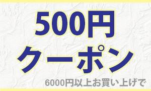 全品500円オフ クーポン