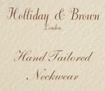 ネクタイ,hollyday&brown,ホリディ ブラウン