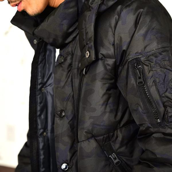 ジャケット 中綿ジャケット メンズ ジャケット ブルゾン コート アウター S LL XL 防寒 秋 冬 送料無料|evergreen92|26