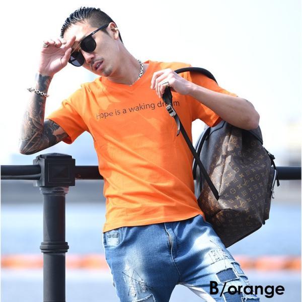 Tシャツ メンズ 半袖 夏 コーデ ブランド Vネック  新品 おしゃれ タイト 小さめ クルーネック かっこいい プリント ロゴ 白|evergreen92|26
