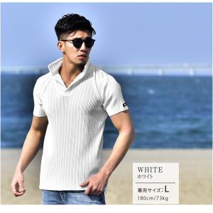 ポロシャツ メンズ 半袖 ブランド おしゃれ 襟 立て イタリアンカラー シャツ ポロシャツ 薄手 白 黒 ホワイト|joker by EverGreen