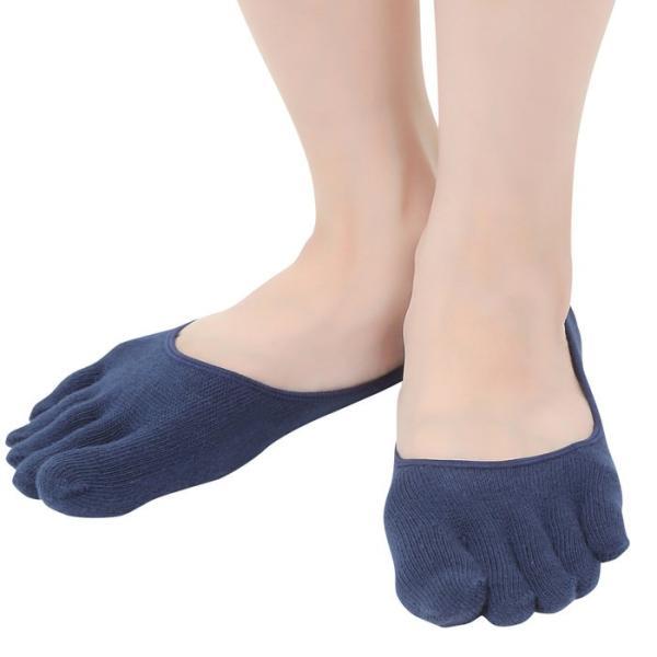 レディース無地5本指ソックス足のムレ&冷え防止対策アイテム 5本指ソックス かわいい 5本指ソックス パンプス 5本指ソックス 浅履き 冷え症 靴 ews 10