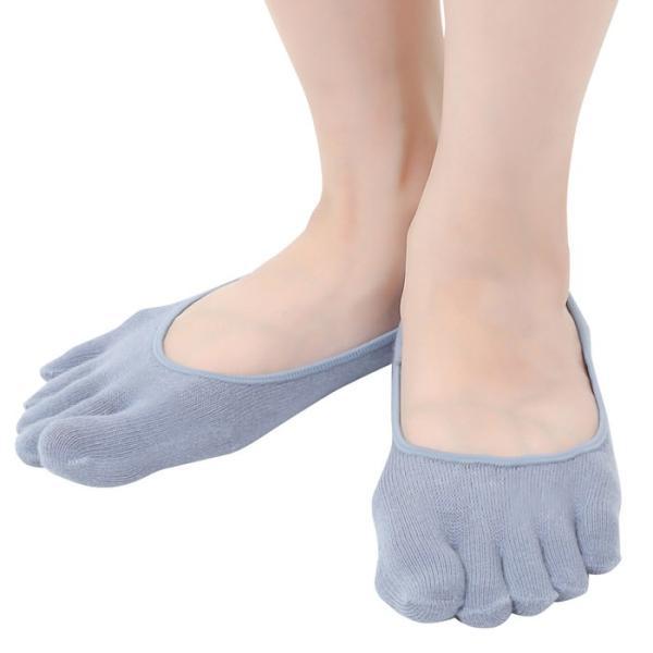 レディース無地5本指ソックス足のムレ&冷え防止対策アイテム 5本指ソックス かわいい 5本指ソックス パンプス 5本指ソックス 浅履き 冷え症 靴 ews 11