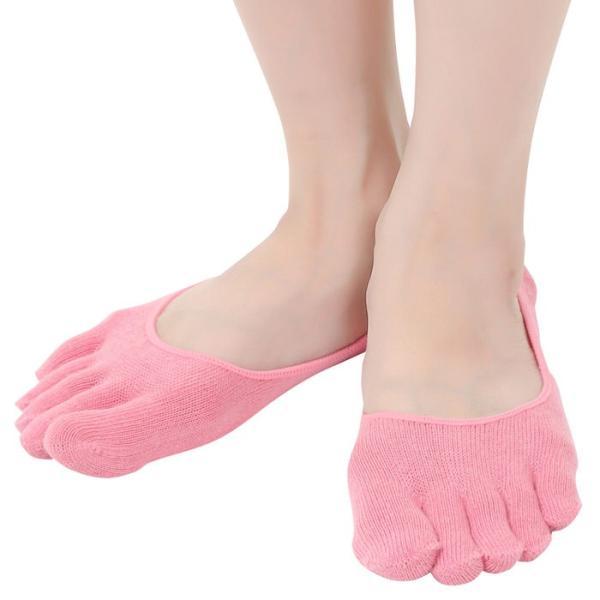 レディース無地5本指ソックス足のムレ&冷え防止対策アイテム 5本指ソックス かわいい 5本指ソックス パンプス 5本指ソックス 浅履き 冷え症 靴 ews 15