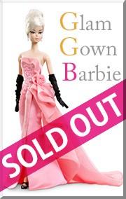 【ご予約受付中】グラム ガウン バービー Glam Gown Barbie