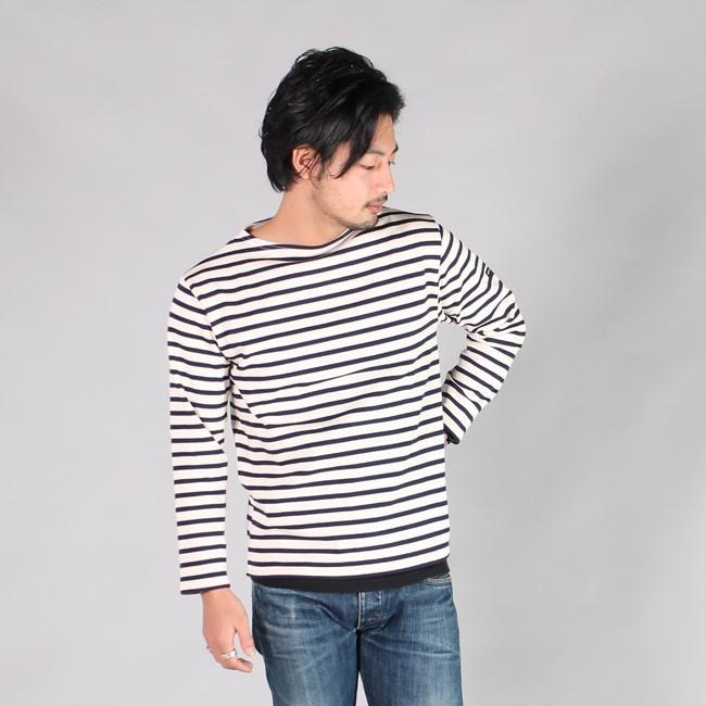 SAINT JAMES セントジェームス,GUILDO BORDER ギルドボーダー バスクシャツ ボートネック カットソー メンズ レディース 定番 フランス製,通販 通信販売