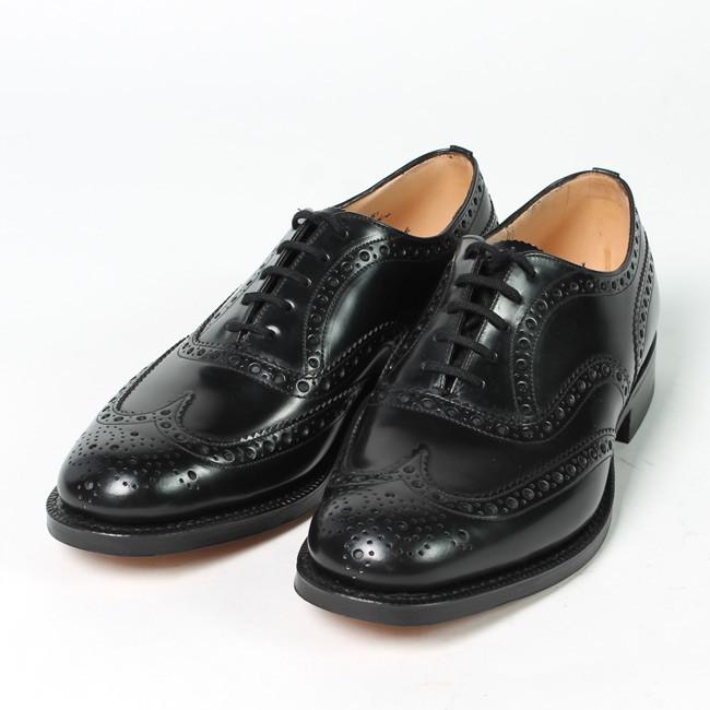 Church's チャーチ, BURWOOD バーウッド 革靴 ウイングチップ 短靴 イギリス製 メンズファッション 定番,通販 通信販売
