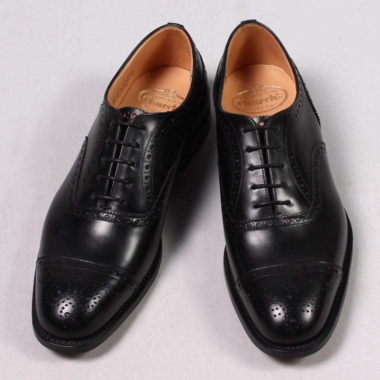 Church's チャーチ,DIPLOMAT ディプロマット セミブローグ 内羽根 キャップトゥ ストレートチップ オックスフォードシューズ 革靴 短靴 イギリス製 メンズファッション 定番,通販 通信販売