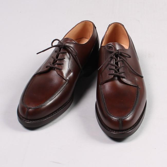 CROCKETT & JONES クロケット&ジョーンズ,MORETON モールトン Uチップシューズ 短靴 革靴 定番 イギリス製,通販 通信販売