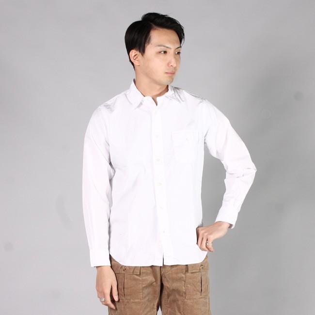 INDIVIDUALIZED SHIRT インディビジュアライズドシャツ,Explorer別注 白シャツ ホワイトシャツ カジュアルシャツ定番 アメリカ製 メンズファッション,通販 通信販売