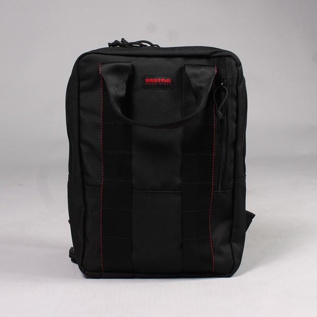 BRIEFING ブリーフィング,FT PACK エフティーパック ブラック バックパック デイパック バリスティックナイロン アメリカ製 メンズ レディース,通販 通信販売