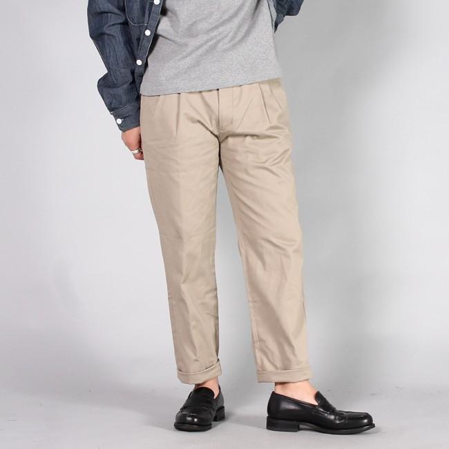 RICCARDO METHA リカルドメッサ,2タックパンツ 2タックトラウザー コットンパンツ イタリア製 メンズファッション,通販 通信販売