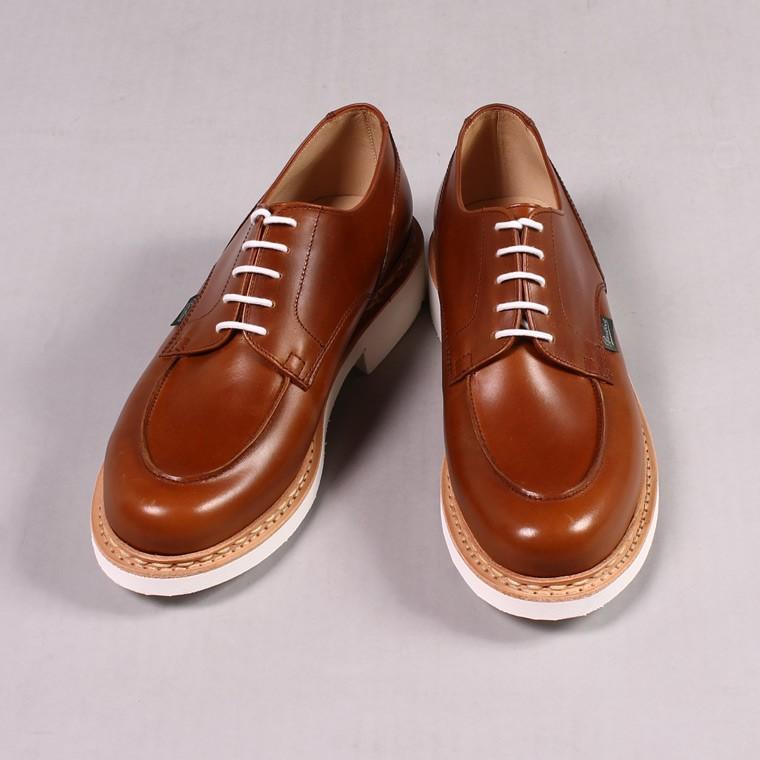 PARABOOT パラブーツ,CHAMBORD OCRE シャンボード ブラウン 革靴 フランス製 メンズファッション,通販 通信販売