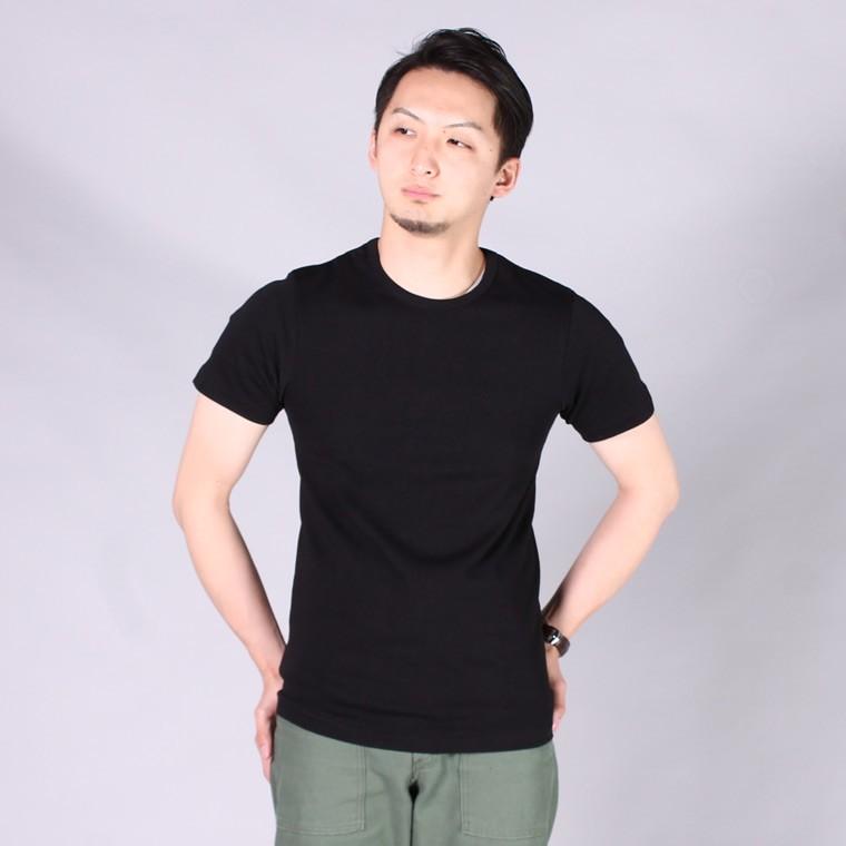 Merz b. Schwanen メルツベーシュバーネン,クルーネック Tシャツ 無地 ドイツ製 定番 メンズファッション,通販 通信販売