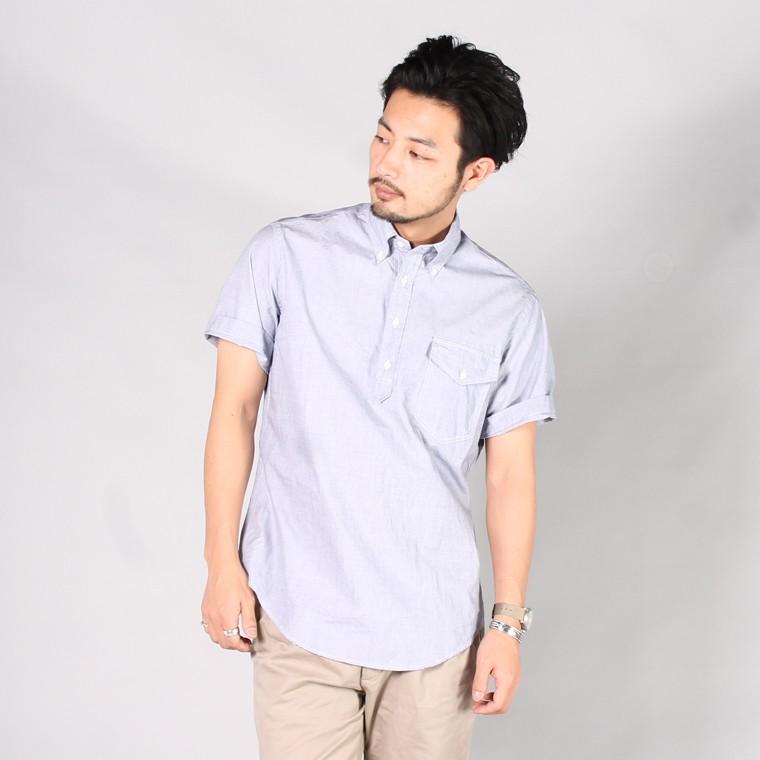 KEATON CHASE USA キートンチェイスUSA,半袖シャツ カジュアルシャツ プルオーバーシャツ 日本製 国産 定番 メンズファッション,通販 通信販売