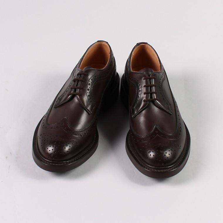 Tricker's トリッカーズ,フルグローブ ロングウィングチップシューズ 短靴 革靴 レザーシューズ イギリス製 定番 メンズファッション,通販 通信販売