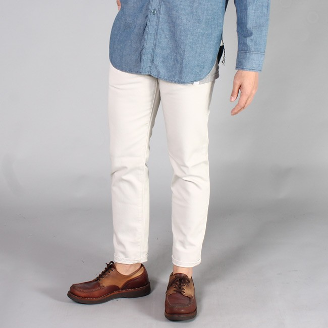 FOB FACTORY エフオービーファクトリー,ピケパンツ 白パンツ ホワイトパンツ 定番 日本製 メンズファッション,通販 通信販売