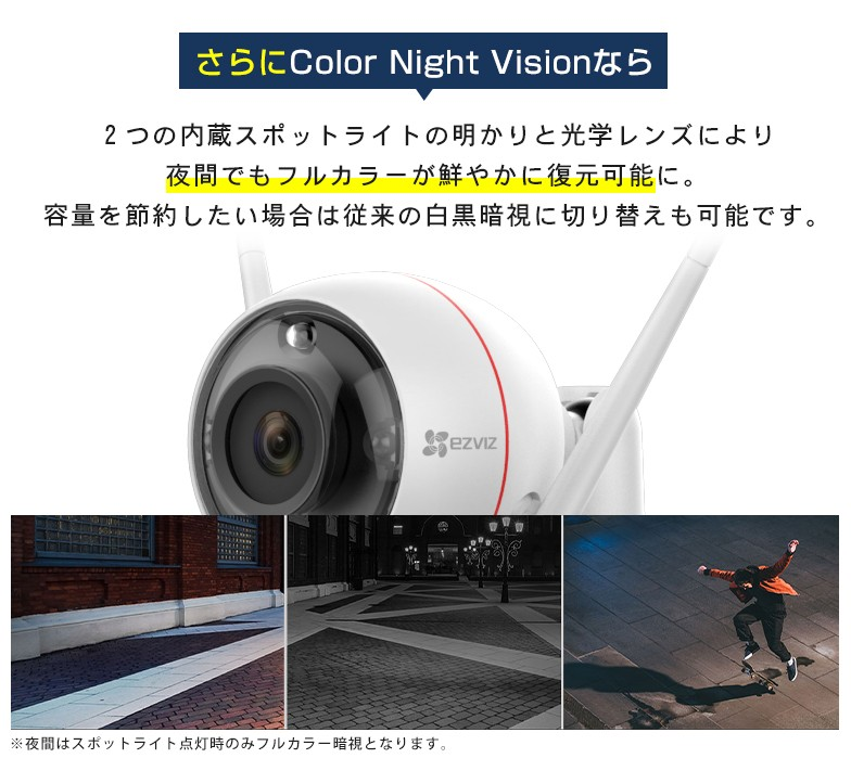 さらにColor Night Visionなら