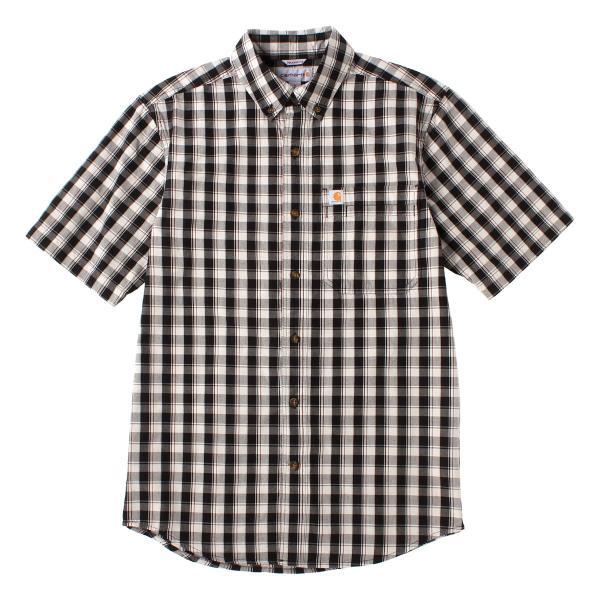 カーハート シャツ 半袖 ボタンダウン ポケット チェック柄 薄手 メンズ 104174 USAモデル|ブランド Carhartt|チェックシャツ アメカジ|f-box|22