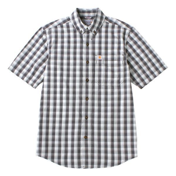 カーハート シャツ 半袖 ボタンダウン ポケット チェック柄 薄手 メンズ 104174 USAモデル|ブランド Carhartt|チェックシャツ アメカジ|f-box|23