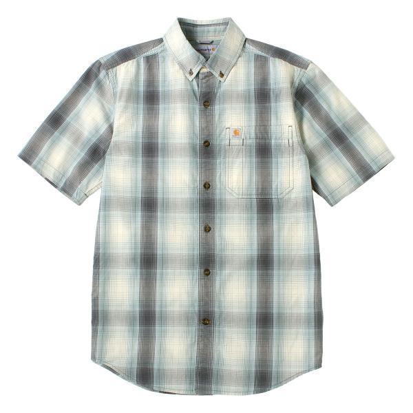 カーハート シャツ 半袖 ボタンダウン ポケット チェック柄 薄手 メンズ 104174 USAモデル|ブランド Carhartt|チェックシャツ アメカジ|f-box|26