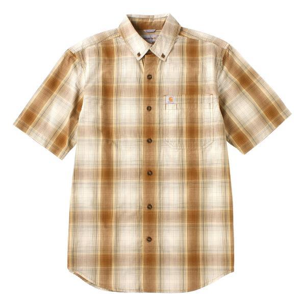 カーハート シャツ 半袖 ボタンダウン ポケット チェック柄 薄手 メンズ 104174 USAモデル|ブランド Carhartt|チェックシャツ アメカジ|f-box|27