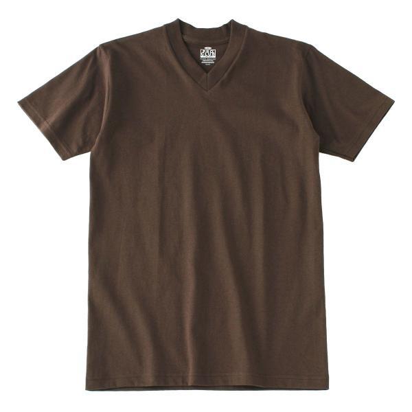 [ビッグサイズ] プロクラブ Tシャツ 半袖 Vネック コンフォート 無地 メンズ 大きいサイズ 106 USAモデル|ブランド PRO CLUB|半袖Tシャツ アメカジ|f-box|21