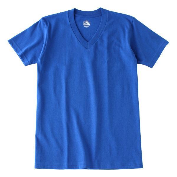 [ビッグサイズ] プロクラブ Tシャツ 半袖 Vネック コンフォート 無地 メンズ 大きいサイズ 106 USAモデル|ブランド PRO CLUB|半袖Tシャツ アメカジ|f-box|23