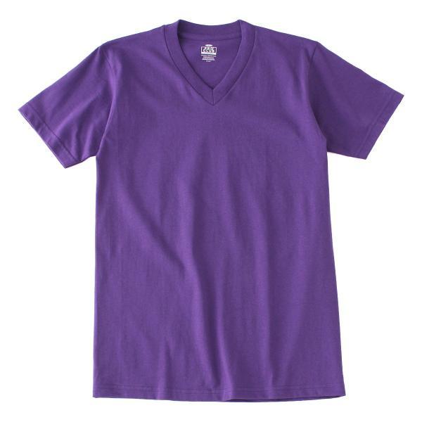 [ビッグサイズ] プロクラブ Tシャツ 半袖 Vネック コンフォート 無地 メンズ 大きいサイズ 106 USAモデル|ブランド PRO CLUB|半袖Tシャツ アメカジ|f-box|24