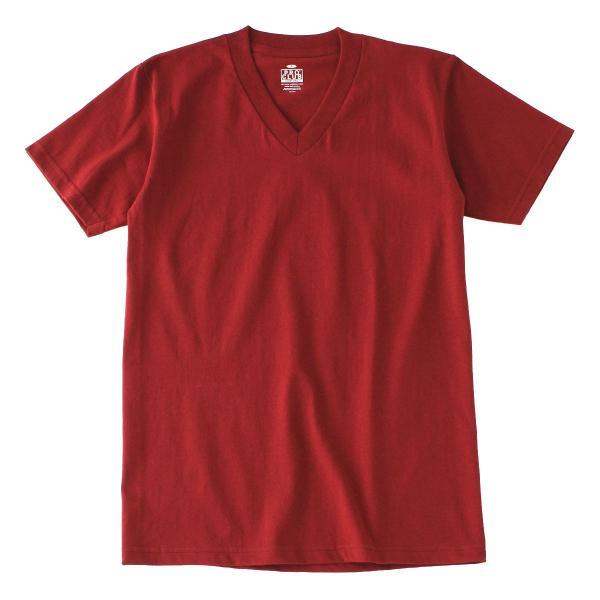 [ビッグサイズ] プロクラブ Tシャツ 半袖 Vネック コンフォート 無地 メンズ 大きいサイズ 106 USAモデル|ブランド PRO CLUB|半袖Tシャツ アメカジ|f-box|26