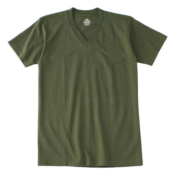 [ビッグサイズ] プロクラブ Tシャツ 半袖 Vネック コンフォート 無地 メンズ 大きいサイズ 106 USAモデル|ブランド PRO CLUB|半袖Tシャツ アメカジ|f-box|27