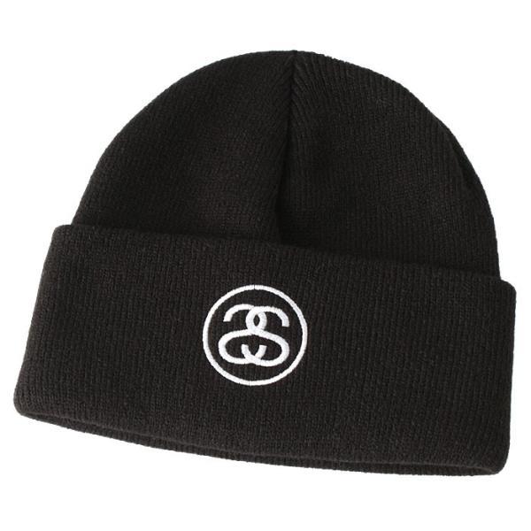 ステューシー ニット帽 メンズ|大きいサイズ USAモデル ブランド STUSSY|ニットキャップ カフニット ビーニー ストリート|f-box|07