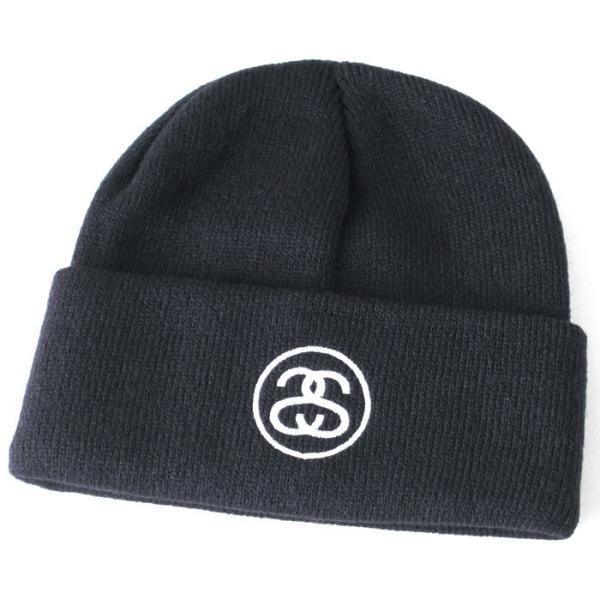 ステューシー ニット帽 メンズ|大きいサイズ USAモデル ブランド STUSSY|ニットキャップ カフニット ビーニー ストリート|f-box|08