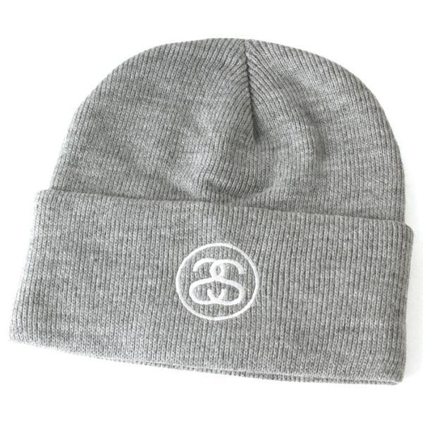 ステューシー ニット帽 メンズ|大きいサイズ USAモデル ブランド STUSSY|ニットキャップ カフニット ビーニー ストリート|f-box|09