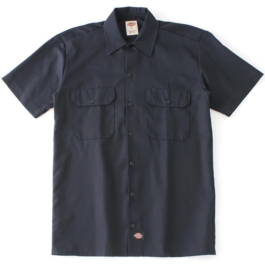ディッキーズ 半袖 シャツ ワークシャツ 1574 メンズ|大きいサイズ USAモデル Dickies|半袖シャツ カジュアルシャツ 作業着 作業服 S M L LL 3L|f-box|08