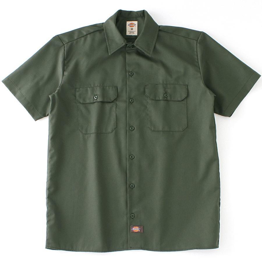 ディッキーズ 半袖 シャツ ワークシャツ 1574 メンズ|大きいサイズ USAモデル Dickies|半袖シャツ カジュアルシャツ 作業着 作業服 S M L LL 3L|f-box|11