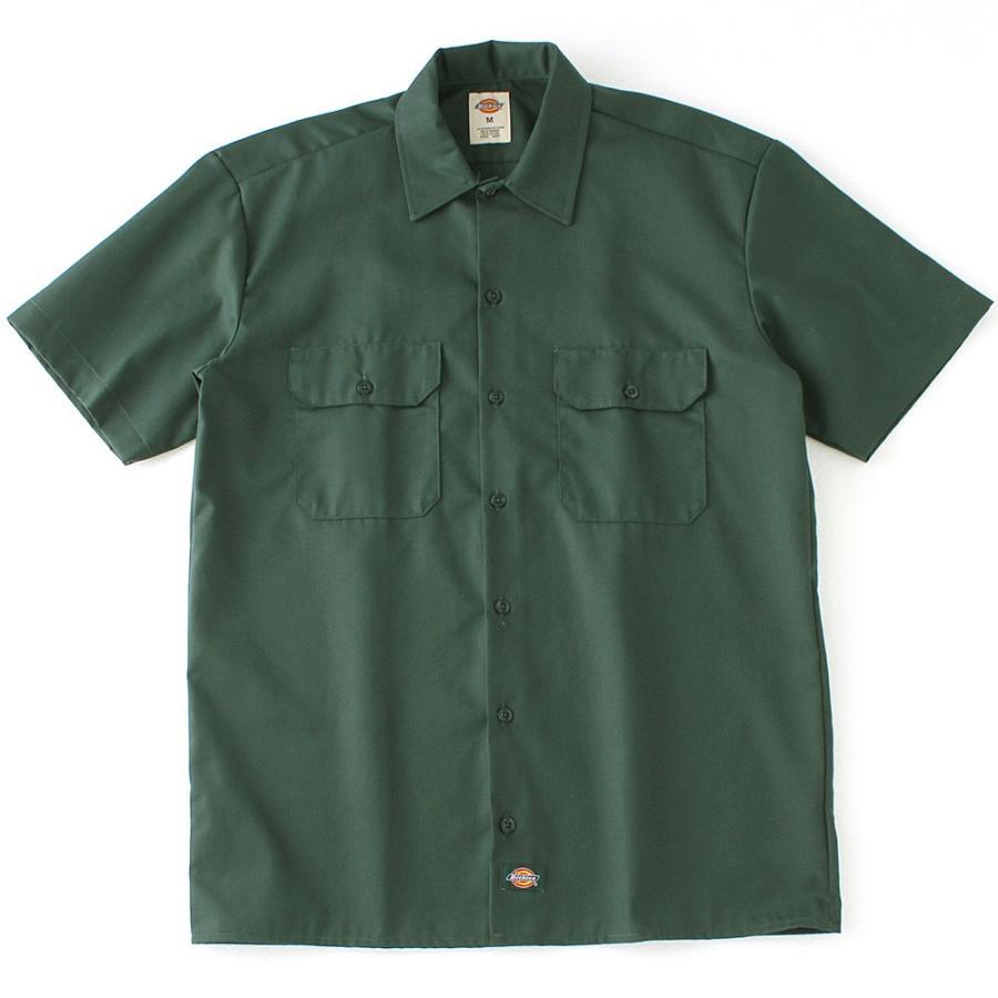 ディッキーズ 半袖 シャツ ワークシャツ 1574 メンズ|大きいサイズ USAモデル Dickies|半袖シャツ カジュアルシャツ 作業着 作業服 S M L LL 3L|f-box|12